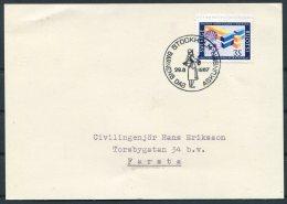 1967 Sweden Stockholm Barnens Dag Postcard - Sweden