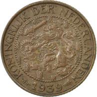 Monnaie, Pays-Bas, Wilhelmina I, Cent, 1939, TB, Bronze, KM:152 - [ 3] 1815-… : Kingdom Of The Netherlands