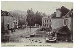 64-MAULEON-LICHARRE-Place De La Liberté... - Mauleon Licharre