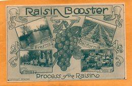 Fresno Cal 1910 Postcard - Fresno