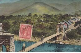 POSTAL DE SAN RAMON EN VIAJE AL PERENE DEL AÑO 1925 (PERU) - Perú