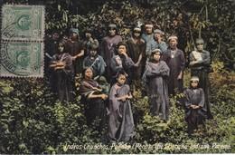 POSTAL DE PERENE DE LOS INDIOS CHUNCHOS DEL AÑO 1916 (PERU) (LUIS SABLICH) - Perú