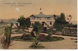 POSTAL DE AREQUIPA DEL CLUB INTERNACIONAL DE TIRO AL BLANCO DEL AÑO 1916 (PERU) (LUIS SABLICH) - Perú