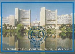 United Nations - Postal Stationery Vienna - Postcard 2004 - 25 Years Postal Services - First Day Cancellation - Wenen - Kantoor Van De Verenigde Naties