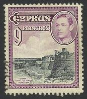 Cyprus, 9 Pi. 1938, Sc #151, Mi # 150, Used. - Cyprus (...-1960)