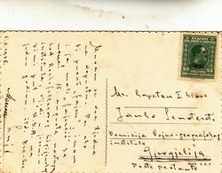 Susak, Sansego. Croazia Su Post Card 1928 - Croazia