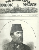 THE ILLUSTRATED LONDON NEWS N.1974 MAY 12, 1877. ENGRAVINGS RUSSIAN TURKISH WAR TURKEY RUSTCHUK RUSE BULGARIA BATOUM - Tijdschriften
