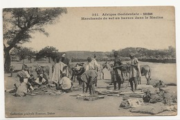 AFRIQUE OCCIDENTALE - SOUDAN - Marchands De Sel En Barres Dans La Macina - Sudan
