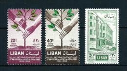 Líbano  Nº Yvert  A-179/80-181  En Nuevo - Líbano