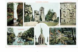 GERMANY 1926  -VINTAGE  POSTCARD - TEUTOBURGER WALD  - 6 VIEWS MAILED W 1 ST OF 150  NR 128 R.LEDERBOGENPOST 7058 - Burgdorf