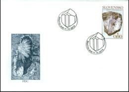 FDC 548-9 Slovakia Minerals 2013 - Minerals