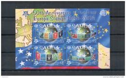 Samoa. 50e Anniversaire émission Europa. Bloc - Samoa