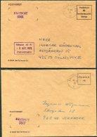 1975=82 Sweden 7x Fieldpost Faltpost Postverket Postmastaren Covers. 6591 1517 5561 7543 2545 3551 - Military