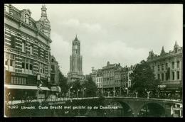 NEDERLAND ANSICHTKAART * UTRECHT * OUDE GRACHT  (3898e) - Utrecht