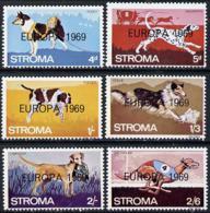 Stroma 1969 Dogs Perf Set ANIMALS DOGS EUROPA LABRADOR DALMATION GREYHOUND POINTER COLLIE HUSKY U/M - Local Issues