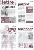 Magazine LETTRE DE DARGAUD N°68 Avec JUILLARD GELUCK CRISSE TINTIN TARDI MARINI DELABY Â?Â?. - Lettre De Dargaud, La