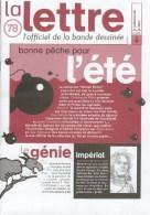 Magazine LETTRE DE DARGAUD N°78 Avec JAMAR FRED ANDREAS MARINI FRANQUIN BERTHET STANISLAS Â?Â?. - Lettre De Dargaud, La
