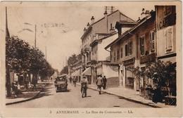 ANNEMASSE (74) - LA RUE DU COMMERCE - Annemasse