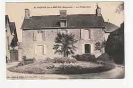 SAINT PIERRE DES LANDES - LE PRESBYTERE - 53 - France