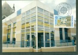 CM-Carte Maximum Card # 1990-Allemgane-Germany#  Europa  CEPT #Architecture # Bureau De Poste,Postamt,Post Office ,Stras - Europa-CEPT
