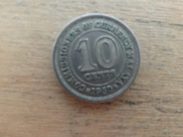 Malaya  10  Cents  1950  Km 8 - Malaysia