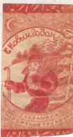 Russia. LABEL. From Sweets. 20-30 Years. HAPPY NEW YEAR. FROZEN PIPES. SANTA CLAUS. - Cioccolato