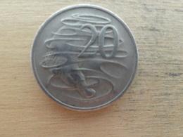 Australie  20  Cents  1975  Km 66 - Monnaie Décimale (1966-...)