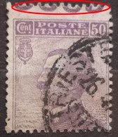 VITTORIO EMANUELE III-50 C-ERROR-ITALY-1908 - 1900-44 Vittorio Emanuele III