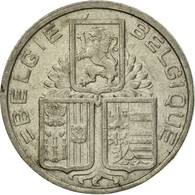 Monnaie, Belgique, 5 Francs, 5 Frank, 1939, TB+, Nickel, KM:117.1 - 1934-1945: Leopold III