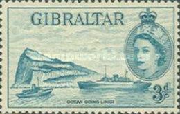 USED STAMPS Gibraltar - Queen Elizabeth II - 1953 - Gibraltar