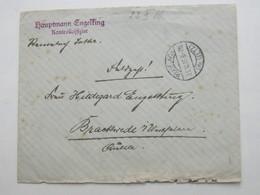 1916 , REMELACH ,  Lettre   Militaire Allemagne - Alsace-Lorraine