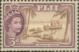 USED STAMPS Fiji - Queen Elizabeth II And Local Motives-1954 - Fiji (1970-...)