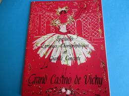 Théâtre Des Fleurs/Grand Casino De VICHY/Saison Artistique/L Daydé, J Rhodes, R Massard,M Lafon, Etc/ 1959    PROG179 - Programs