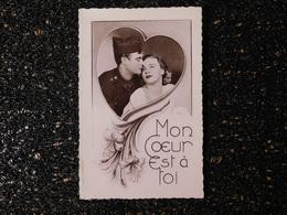 """Militaire Et Sa Fiancée Dans Un Coeur, """" Mon Coeur Est à Toi """"  (S5) - Couples"""