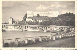 CPA - Belgique -  Liège - Huy - Le Pont Hesbaye-Condroz, Le Port Et La Collégiale - Huy