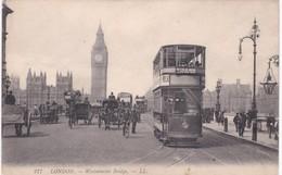 LONDON - Westminster Bridge - London