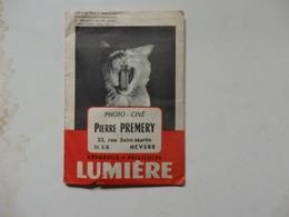 Pochette Photo-ciné Pierre Premery 23, Rue Saint-Martin à Nevers (58). - Photographie