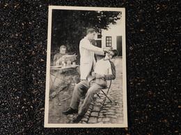 Carte Photo, Militaires Première Guerre Mondiale, Le Barbier  (S5) - War 1914-18