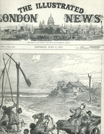 THE ILLUSTRATED LONDON NEWS N.1977 JUNE 2, 1877. ENGRAVINGS RUSSIAN TURKISH WAR TURKEY ROMANIA BULGARIA VARNA SILISTRIA - Magazines & Newspapers