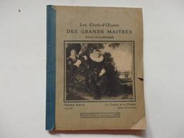 """Cahier D'école """"Les Chefs-d'oeuvre Des Grands Maîtres De L'école Hollandaise"""" Appartenant à Marie Houllier. - Other Collections"""