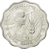 Monnaie, INDIA-REPUBLIC, 10 Paise, 1975, TTB, Aluminium, KM:29 - India