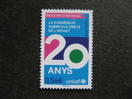 TB Timbre D'Andorre N°688, Neuf XX. - Neufs