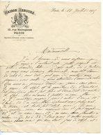 MAISON REBOURS. REPARATION D'EVENTAILS 1905. LAS REBOURS SUR LES PRIX DES ACCESSOIRES ET LA MODE DES EVENTAILS. - France