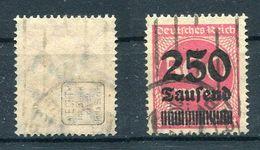 D. Reich Michel-Nr. 295 Gestempelt - Geprüft - Gebraucht