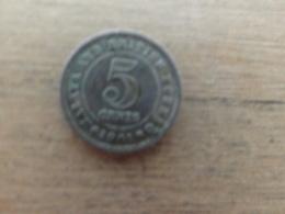 Malaya  Britich  Borneo  5  Cent  1961  Km 1 - Malaysie