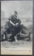 CPA 22 - CMCB 154 - Pêcheuse De Sous-la-Tour - Coutumes, Moeurs Et Costumes Bretons - Plérin / Saint-Laurent-de-la-Mer