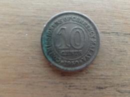 Malaya  10  Cents  1950  Km 8 - Malaysie