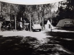 Photo De Voitures Anciennes Dont 2 CV Et Une Autre. - Automobiles