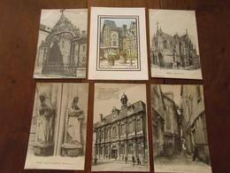Carte Postale / Aube   10 / Lot De 6 Cartes - France