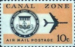 USED STAMPS  -Canal-Zone - Airmail - United States